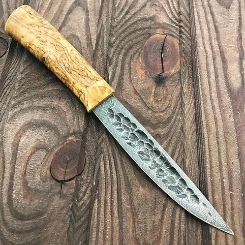 """Нож """"Якут средний""""(49) ДАМАСК"""