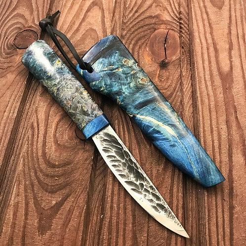 Якутский МАЛЫЙ нож в деревянных ножнах.
