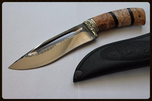 """Нож """"Бизон"""" кованая сталь 95Х18"""