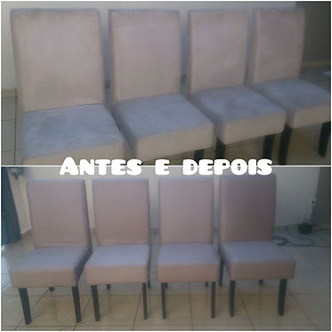 Higienização de cadeira almofadada