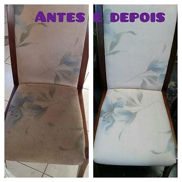 Limpeza de cadeiras a seco