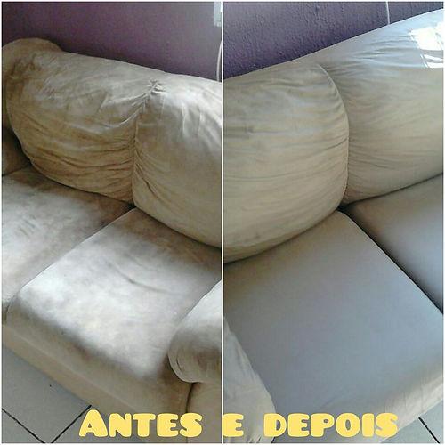 Lavagem de sofá em Campinas