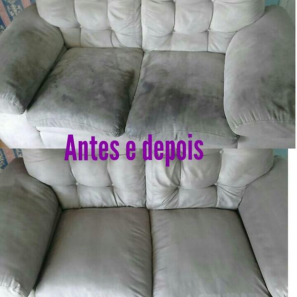 Promoção de higienização de sofás