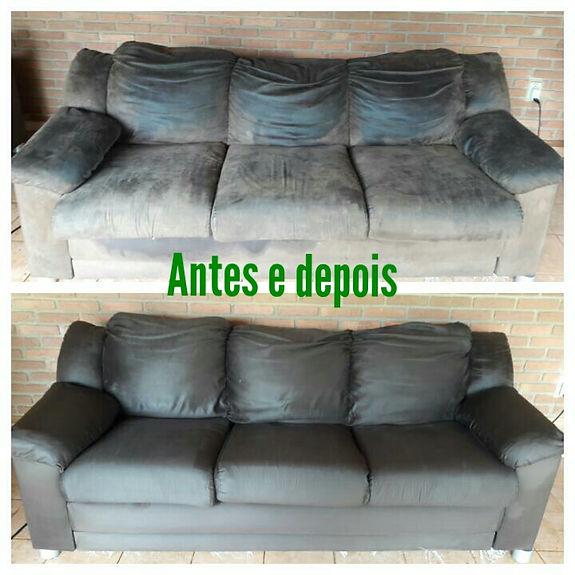 Super higienizção de sofás