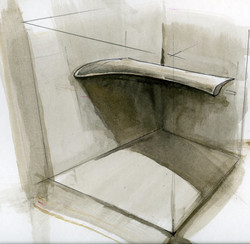 Airfoil - studio installation sketch