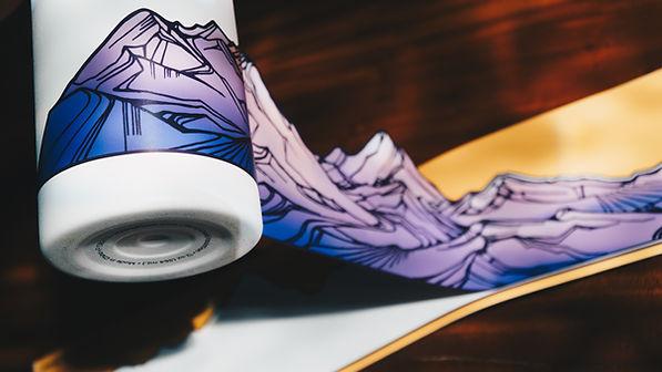 hydrascapestickers apply sticker purples