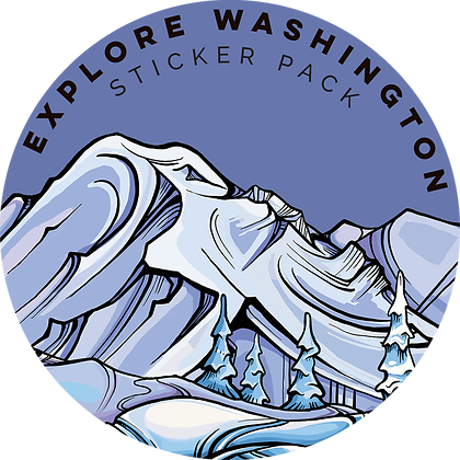 EXPLORE WASHINGTON STICKER PACK