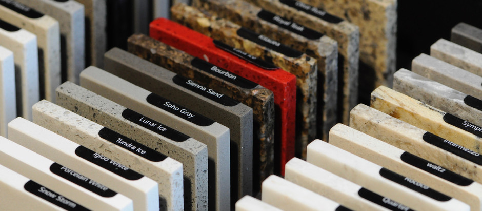Considering Countertops: Manufactured Materials