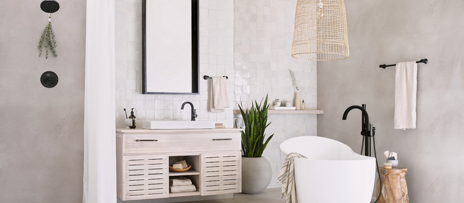 New Bathroom Fixtures Flow to Market, Bringing Style, Color and Technology