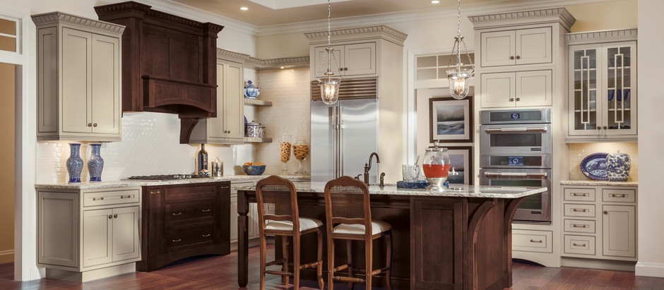 Creating a Look with Cabinet Color Selection