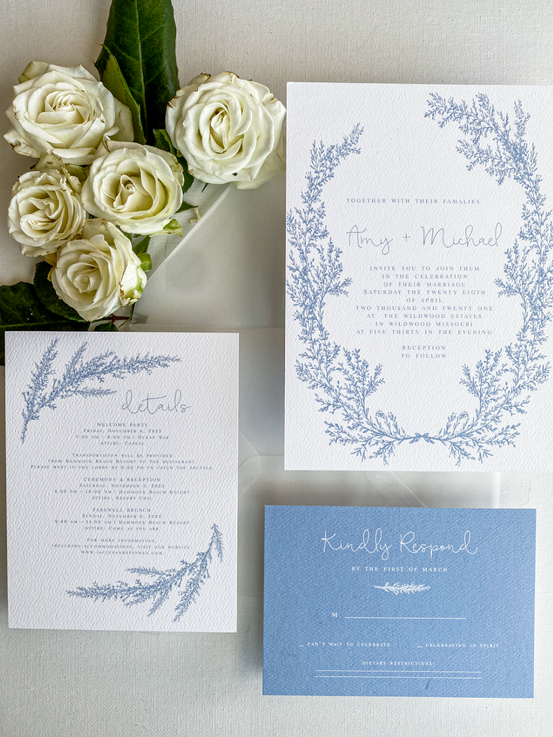 Custom Wedding Invites