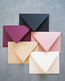 Wander and Rose Colorful Envelope Bundle