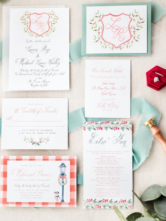 Custom Christmas Wedding Suite