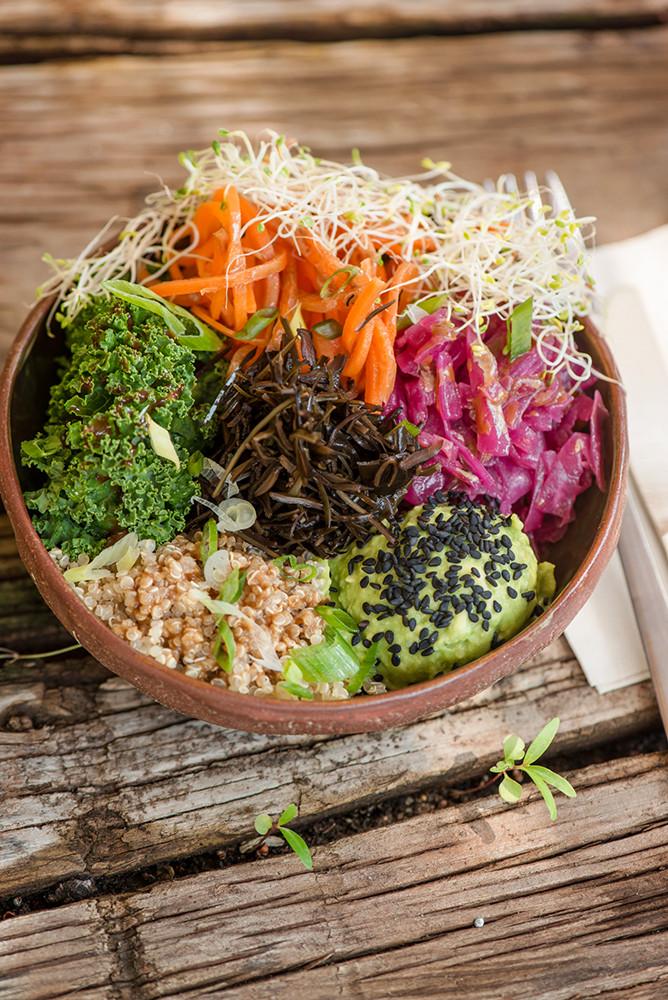 vegan lunch Dubai - Life N One