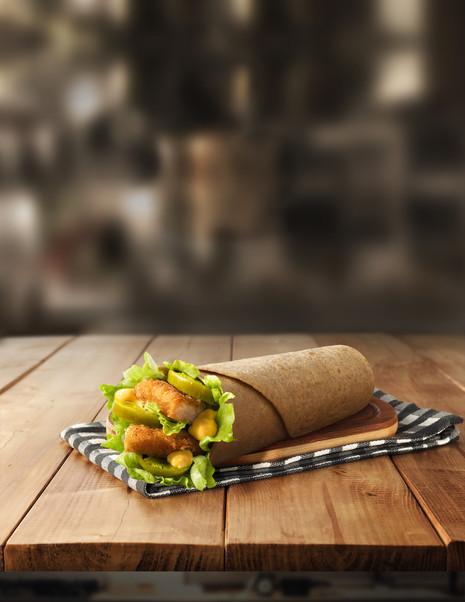 Chicken Snack Wrap for McDonald's UAE