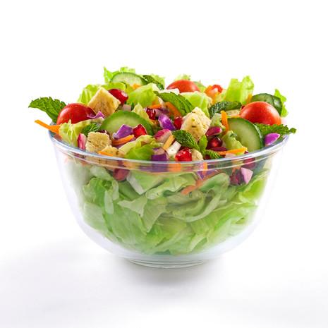 McCafe fresh healthy salad