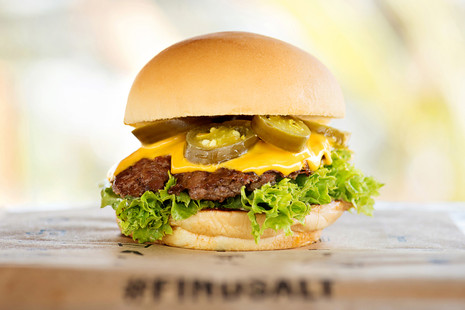 #findSalt burger