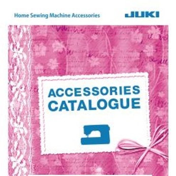 Catálogo PDF accesorios JUKI doméstico