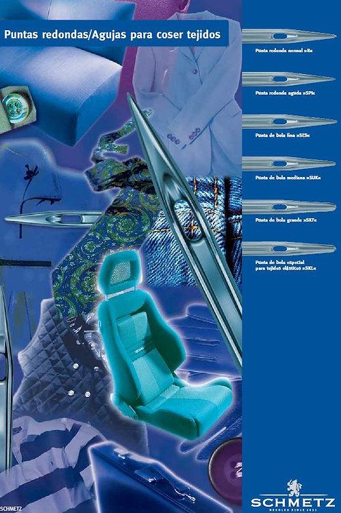 Catálogo PDF Puntas redondas  agujas industriales.
