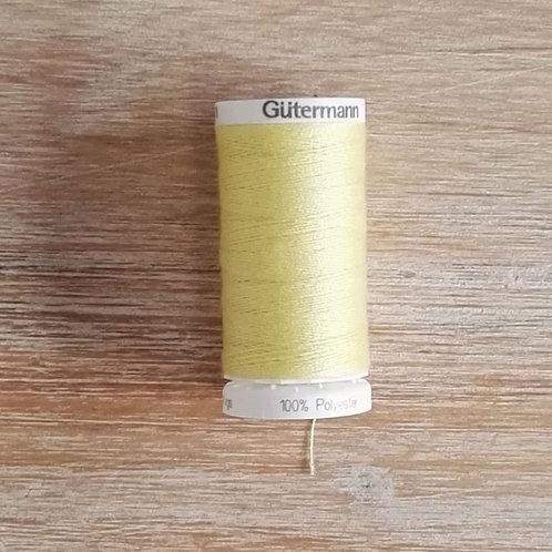 Hilo DENIM  1380 amarillo limón  Gütermann