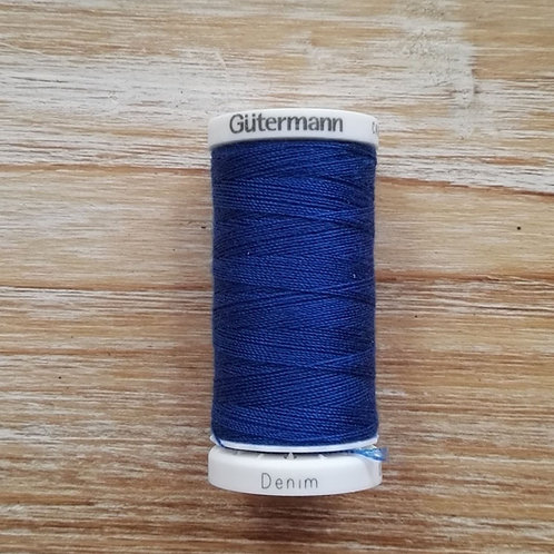 Hilo DENIM N6756 azul cobalto Gütermann