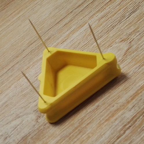 Pinchos de sujección para casar telas 20 mm 3 agujas