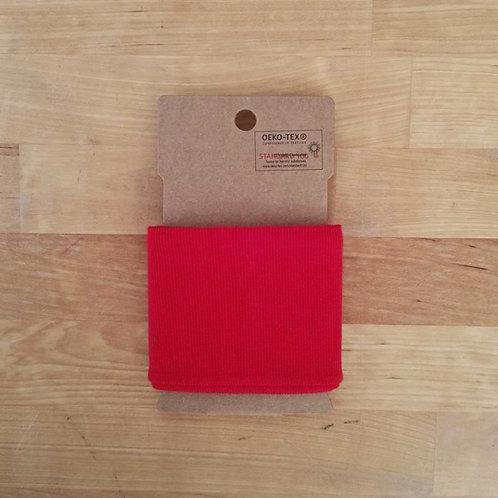 Puño / Cintura Liso. Rojo