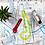 Thumbnail: Regla curva de patronaje con margen de costura Pequeña