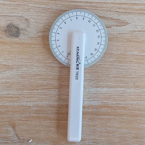 Ruleta para medir curvas
