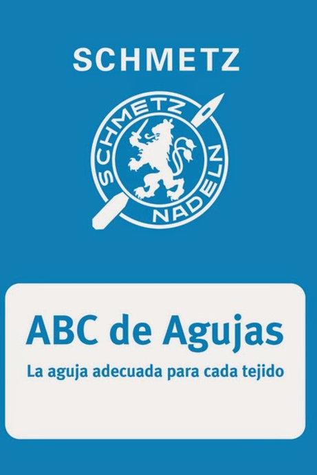 ABC de las agujas domésticas Schmetz
