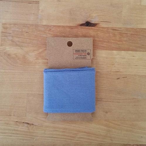 Puño / Cintura Liso. Azul