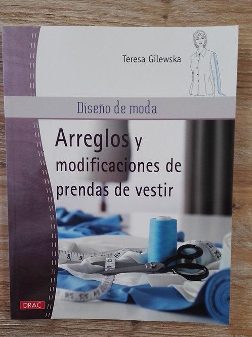 Libro arreglos y modificaciones de prendas de vestir. Teresa Gilewska
