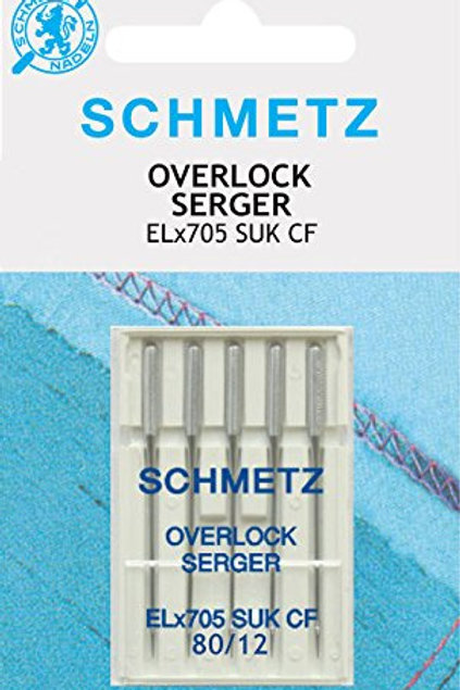 Agujas Overlock punto Schmetz