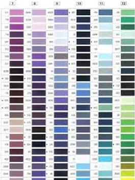 Carta PDF  de colores de hilo Mara industrial