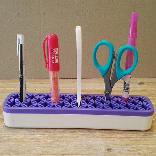 Organizador de accesorios de mesa colores