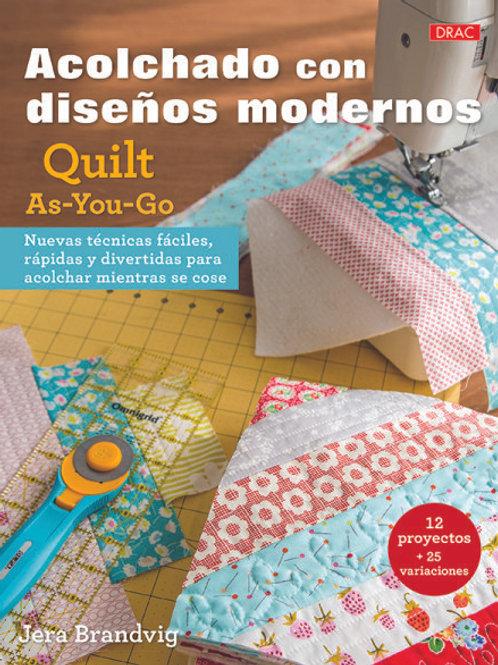 Libro Diseños modernos Quilt as you go