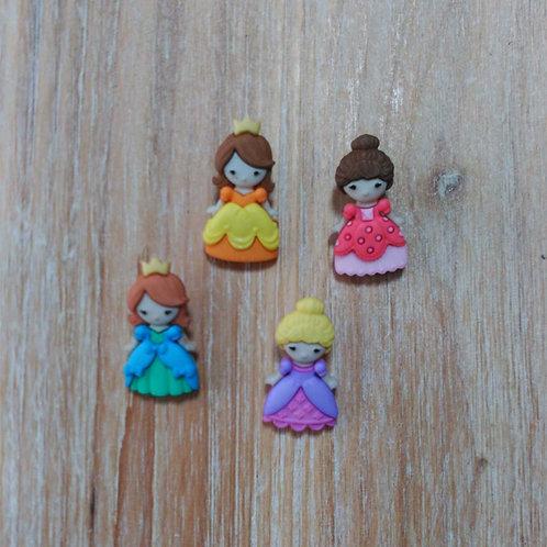 Botones princesas