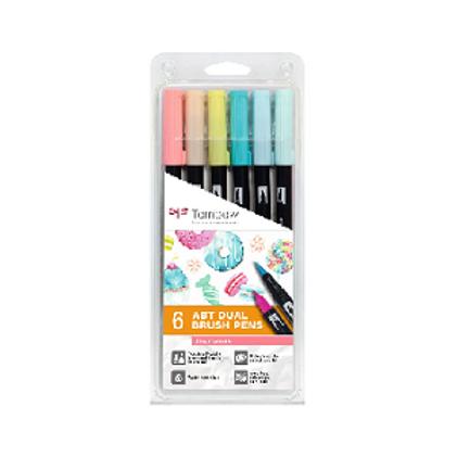 Rotulador ABT Dual brush pens. Tombow Estuche de 6. Varias opciones