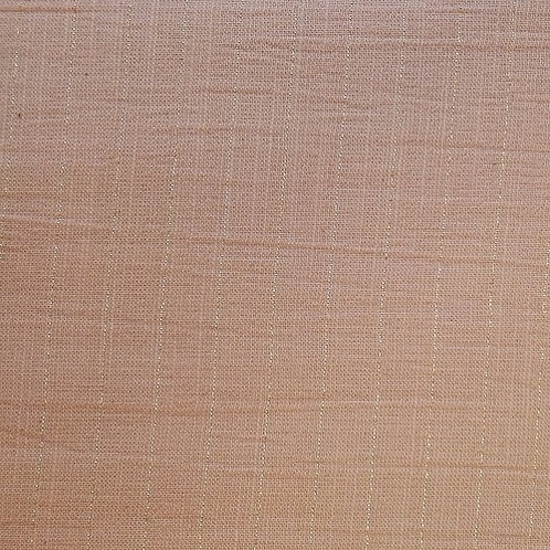 Tela sari gold color salmón claro  50 cm