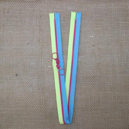 Cremalleras bicolor 55cm Varios colores