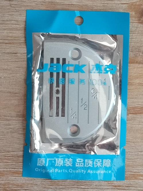 Placa aguja máquina plana JACK tejidos medios finos