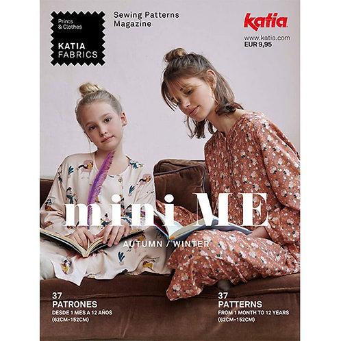 Revista patrones MiniMe1 Katia Fabrics Otoño Invierno