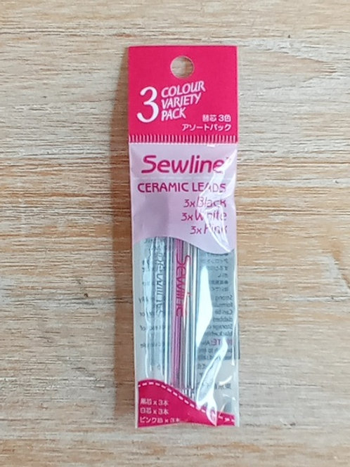 Minas para marcador Sewline 6 u. Colores