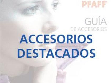 Catálogo accesorios  Pfaff originales.
