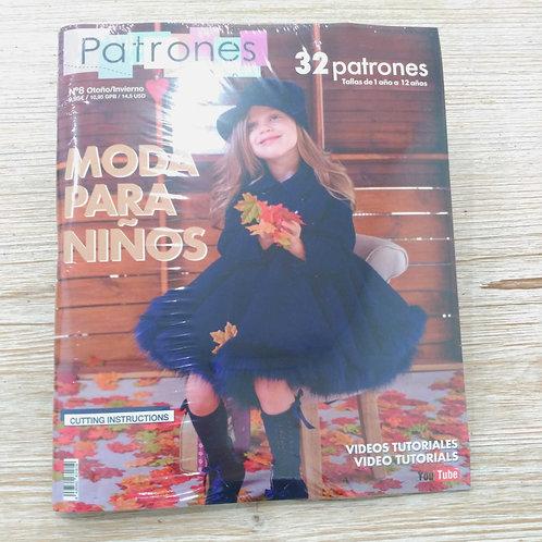 Revista Patrones infantiles Nº8
