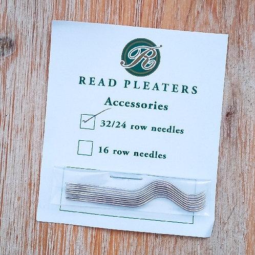 Agujas Read Pleaters 12 un.