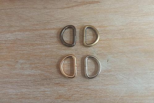 Hebilla de anillo D de Metal de 32mm.