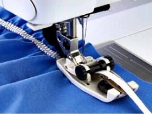 Prensatelas para elasticos con sistema Idt Pfaff