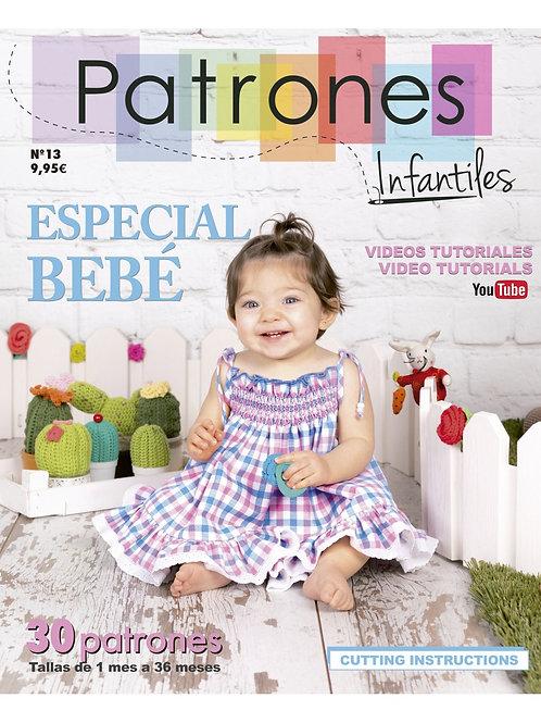 Revista Patrones infantiles nº 13 especial bebé