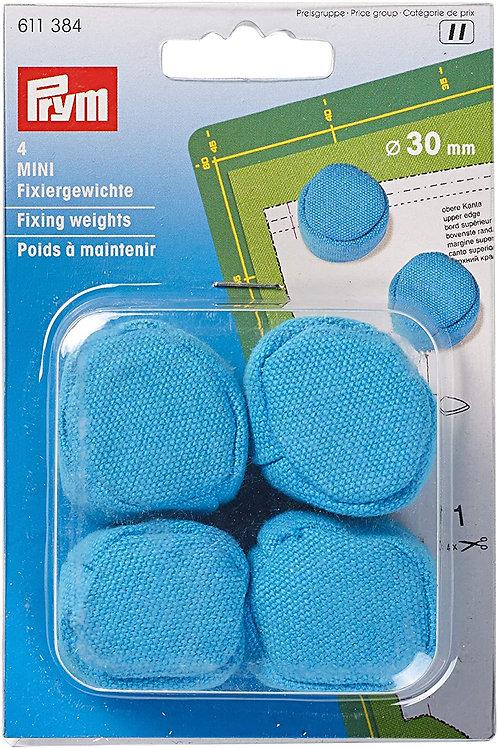 Mini pesas Prym en color azul